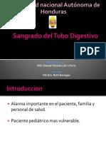 Sangrado Del Tubo Digestivo