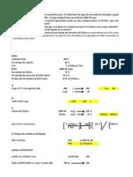 Calculo de Dimensiones de Reactores