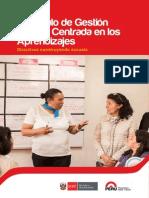Fascículo de Gestion Escolar Centrada en Los Aprendizajes - Director