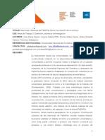 2011 - Congreso Iberoamericano de Extensión - Kejner, Riffo, Kejner, Fanese y Malaspina