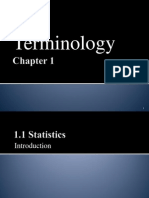 CHAPTER 01 Teminology