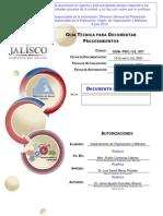 Dom-p001-d2 007 Guia Tecnica Para Documentar Procedimientos Del Departamento de Organizacion y Metodos 0