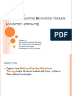 Tutorial 5 Rational Emotive Therapy