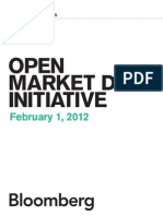 Bloomberg Open Market Data Whitepaper
