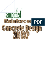 Simplified Reinforced Concrete Design 2010 NSCP