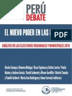 Análisis de Las Elecciones Municipales y Reginales 2010