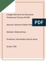 Colegio Nacional de Educación Profesional Técnica Nº198 Block