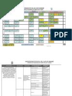 Modelo de Malla y Pensum Computacion y Redes