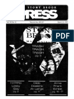 The Stony Brook Press - Volume 20, Issue 11