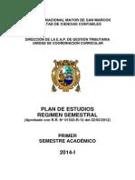 Silabo Primer Semestre 2014- i Eap Gestión Tributaria