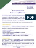 Programa de Desarrollo Personal Abril 2013