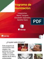 2014 0401 Educacionparalasalud Programa Inmunizacion