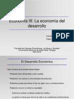 (3) La Economia Del Desarrollo