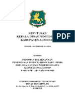 SK Kepala Dinas ttg PPDB 2014.docx