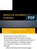 (10) Indice de Desarrollo Humano Tartagal 2014