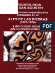 Exploraciones Alto Piedras1975 76