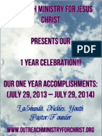 Outreach Ministry For Jesus Christ ~ Volume Four
