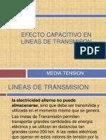 Efecto Capacitivo en Lineas de Transmison