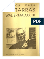 Walter Malosetti- Melodias Para Guitarra