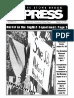 The Stony Brook Press - Volume 21, Issue 3