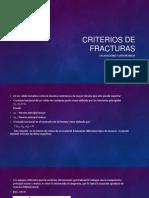 Criterios de Fracturas