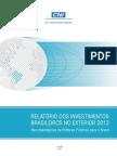 RelatórioCNI. Investimentos Externos Brasil