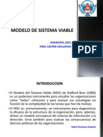 Introduccion Al Modelo de Sistema Viable