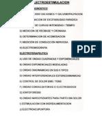 Electroestimulación