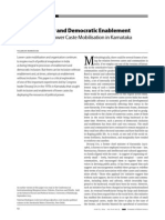 Political Power and Democratic Enablement