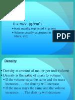 Density Abbreviated