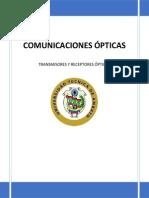 Transmisores y Receptores Opticos