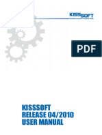 Kisssoft General Manual_e
