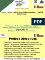 DanubeWATER Prezentation June 2014 1