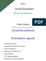 Ns2 Network Simulator- Tutorial for Begineers
