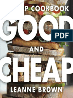 Good and Cheap Cookbook by Leanne Brown