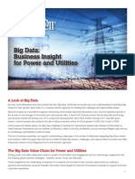 Big Data Business Insight for Power and Utilities
