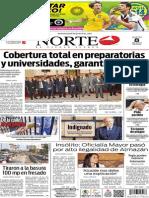 Periódico Norte edición del día 8 de julio de 2014
