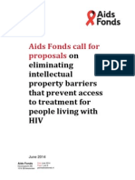 Aids Fonds Call for Proposals 2014