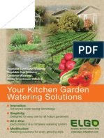Kitchen Garden Watering Solutions