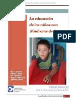 La Educación de Niños Con Sindrome de Down