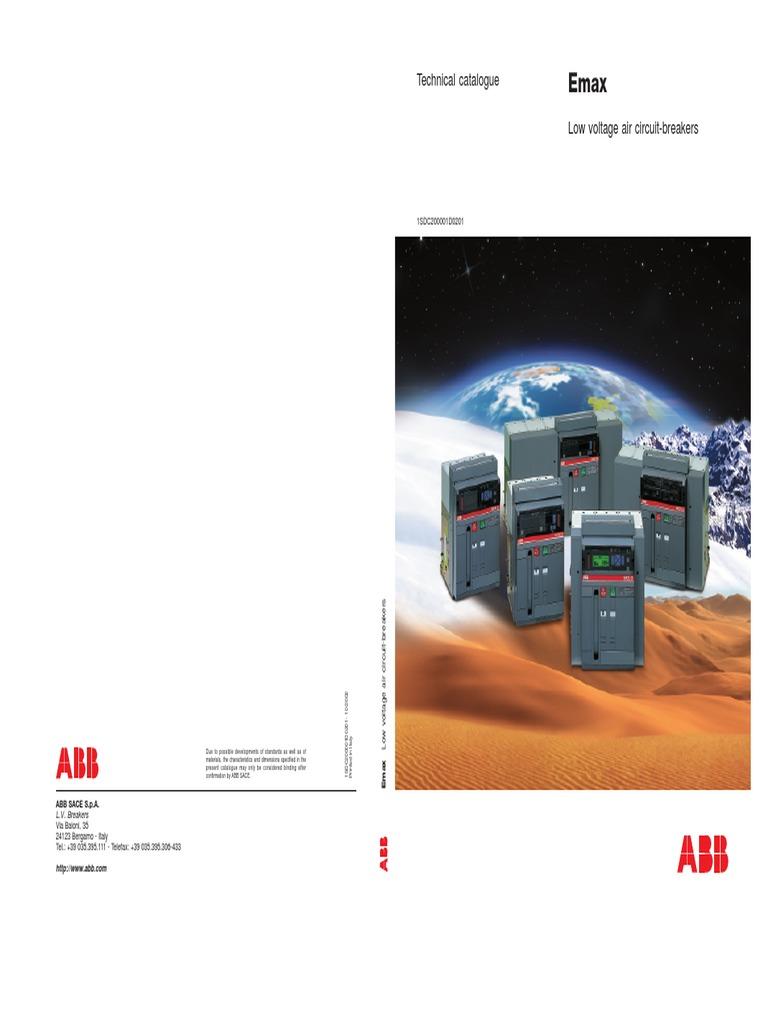 Emax Low Voltage Air Circuit
