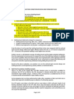 Site construction condition review and forward plan.docx