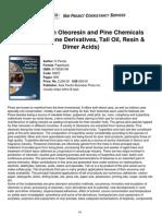 Niir Handbook on Oleoresin Pine Chemicals Rosin Terpene Derivatives Tall Oil Resin Dimer Acids