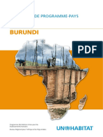 Document de Programme-Pays 2008-2009 - Burundi