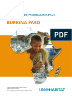 Document de Programme-Pays 2008 - 2009 - Burkina Faso