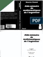 Aide-mémoire de Mathématiques de l'Ingénieur