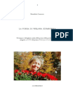 La Poesia Della Szymborska Tnr