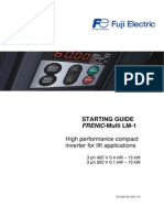 Seting S-cuver Fuji Inverter