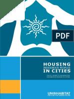 Housing Indigenous Peoples in Cities