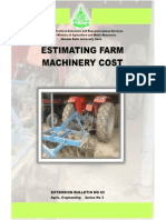 Estimating Farm Machinery